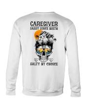 Caregiver Salty by Choice Crewneck Sweatshirt thumbnail