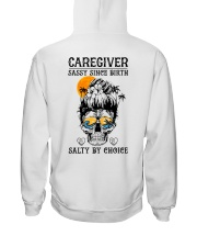 Caregiver Salty by Choice Hooded Sweatshirt thumbnail