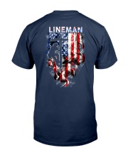 Proud American Lineman Classic T-Shirt thumbnail