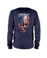 Proud American Lineman Long Sleeve Tee thumbnail