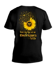 Love my llife as an Electrician's wife  V-Neck T-Shirt thumbnail