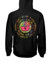 Pharmacy Technician because it is worth my time Hooded Sweatshirt thumbnail