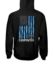Proud Carpenter Hooded Sweatshirt back