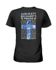 Aircraft Mechanic Prayer Ladies T-Shirt tile