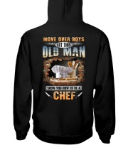 Let this Old Man show you How to be a Chef Hooded Sweatshirt tile