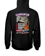 Carpenter: Straight hustle all day every day Hooded Sweatshirt thumbnail