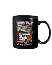Carpenter: Straight hustle all day every day Mug tile