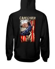 Proud American Caregiver Flag Hooded Sweatshirt thumbnail