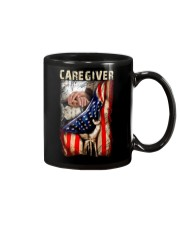 Proud American Caregiver Flag Mug thumbnail