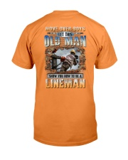 This Old man Show you How to be Lineman Premium Fit Mens Tee thumbnail