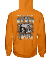 This Old man Show you How to be Lineman Hooded Sweatshirt thumbnail