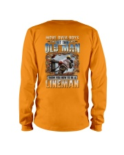 This Old man Show you How to be Lineman Long Sleeve Tee thumbnail