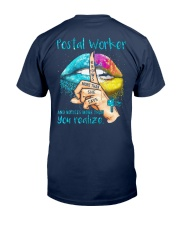 Postal Worker Notices more than you realize Classic T-Shirt thumbnail