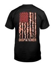 Proud American Dispatcher Flag Classic T-Shirt back