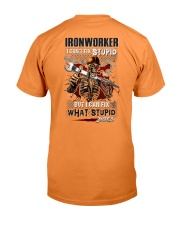 Ironworker: I can fix what stupid does Premium Fit Mens Tee thumbnail