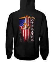 Proud American Operator Flag Hooded Sweatshirt thumbnail