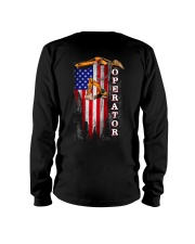 Proud American Operator Flag Long Sleeve Tee thumbnail