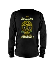 Bartender doesn't Play with Stupid People Long Sleeve Tee thumbnail
