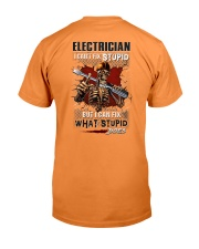 Electrician: I can fix what stupid does Premium Fit Mens Tee thumbnail