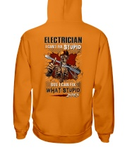 Electrician: I can fix what stupid does Hooded Sweatshirt thumbnail
