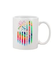 Proud Electrician Tie Dye US Flag Mug thumbnail