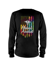 Medical Assistant US Flag Long Sleeve Tee thumbnail
