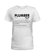 Plumber dictionary Ladies T-Shirt thumbnail