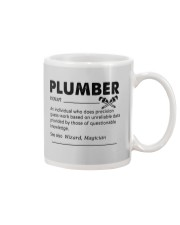 Plumber dictionary Mug tile