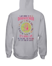 I was born to be a Dispatcher Hooded Sweatshirt thumbnail