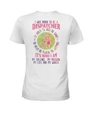 I was born to be a Dispatcher Ladies T-Shirt thumbnail
