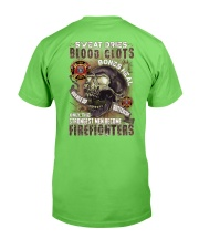 Strongest men become Firefighters Classic T-Shirt back