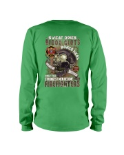Strongest men become Firefighters Long Sleeve Tee thumbnail