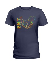 EMT: Love what you do Ladies T-Shirt front