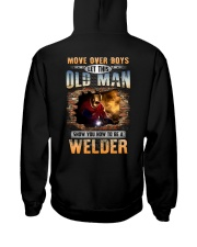 Let this Old Man show you How to be a Welder Hooded Sweatshirt thumbnail