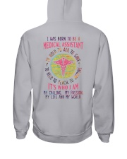 I was born to be a Medical Assistant Hooded Sweatshirt tile