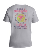 I was born to be a Medical Assistant V-Neck T-Shirt tile