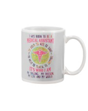 I was born to be a Medical Assistant Mug tile