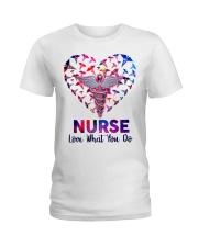 Nurse Love what you do  Ladies T-Shirt tile