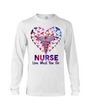 Nurse Love what you do  Long Sleeve Tee tile