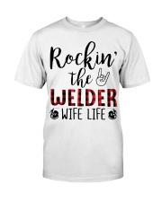 Rockin the Welder Wife Life Classic T-Shirt thumbnail