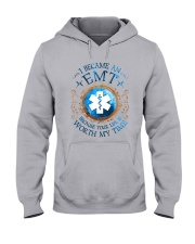 EMT because Your life is worth my time Hooded Sweatshirt thumbnail