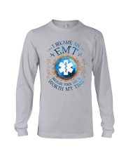 EMT because Your life is worth my time Long Sleeve Tee thumbnail