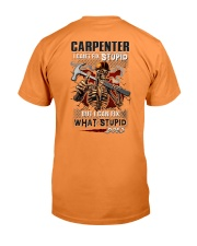 Carpenter: I can fix what stupid does Premium Fit Mens Tee thumbnail