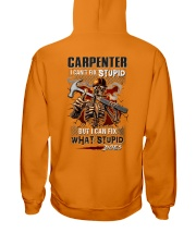 Carpenter: I can fix what stupid does Hooded Sweatshirt thumbnail