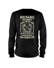 Hardest part of my job Mechanic shirt Long Sleeve Tee thumbnail