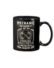 Hardest part of my job Mechanic shirt Mug thumbnail
