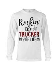 Rockin the Trucker Wife Life Long Sleeve Tee thumbnail