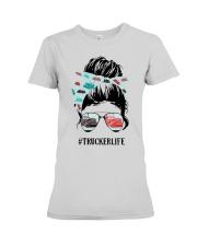 Trucker Life Premium Fit Ladies Tee thumbnail