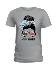 Trucker Life Ladies T-Shirt thumbnail
