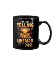 I am not yelling that's how Lineman's talk Mug thumbnail